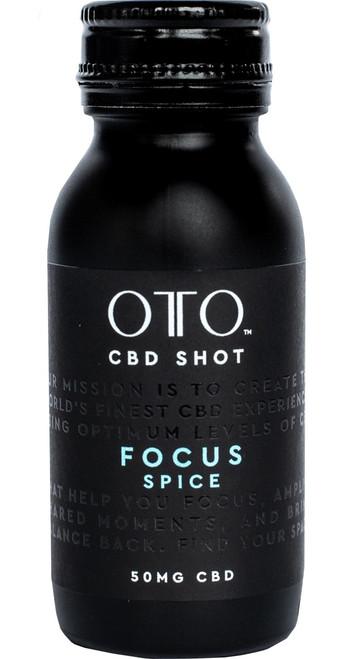 CBD 50mg Focus Shot, OTO CBD Pack of 12