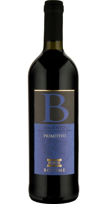 Primitivo Salento, Boheme 2019, Southern Italy, Italy