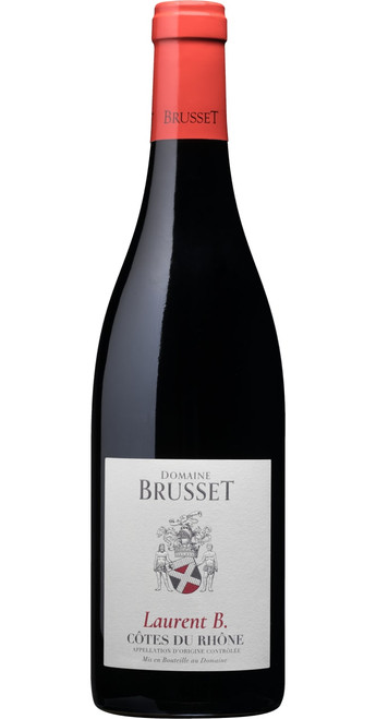 Côtes du Rhône 'Cuvée Laurent B' 2019, Domaine Brusset