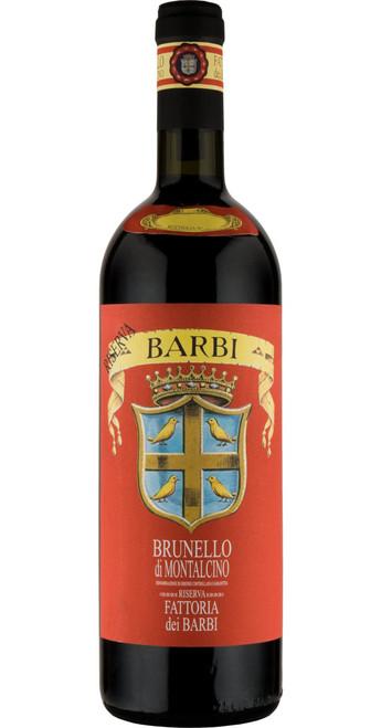 Brunello di Montalcino Riserva, Fattoria dei Barbi 2012, Tuscany, Italy