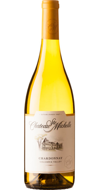 Columbia Valley Chardonnay 2018, Chateau Ste Michelle, Washington, U.S.A.