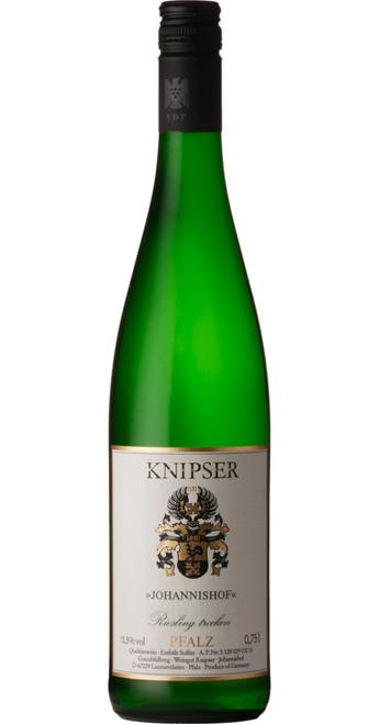 Johannishof Riesling Trocken, Knipser 2019, Pfalz, Germany
