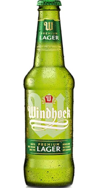 Namibia Breweries Pack of 24 Windhoek Lager Namibia