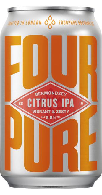 Fourpure Pack of 12 Fourpure Juicebox Citrus IPA