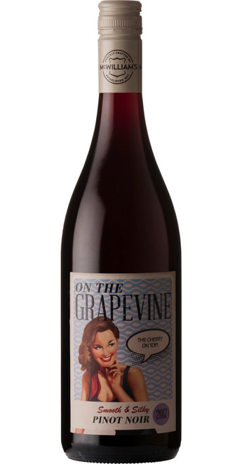 On The Grapevine Pinot Noir 2018, On The Grapevine, South Australia, Australia