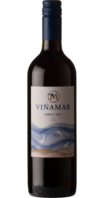 Merlot 2019, Viñamar, Casablanca Valley, Chile