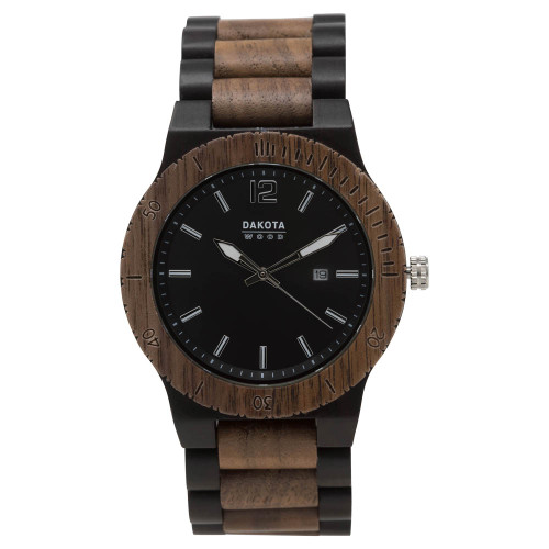 Brown Sandalwood - Black Dial