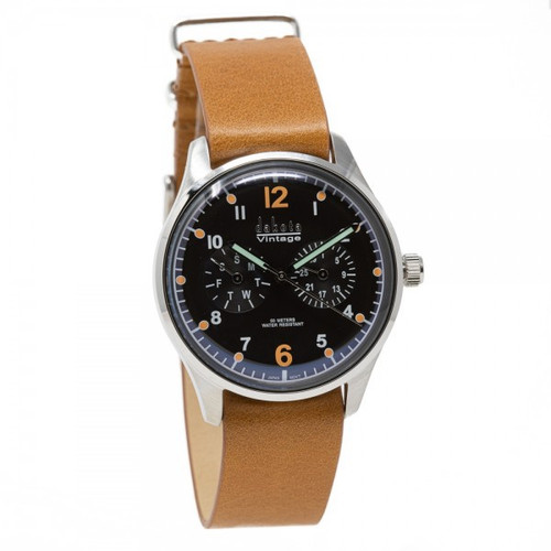 Dakota Vintage Sweep - NATO Brown
