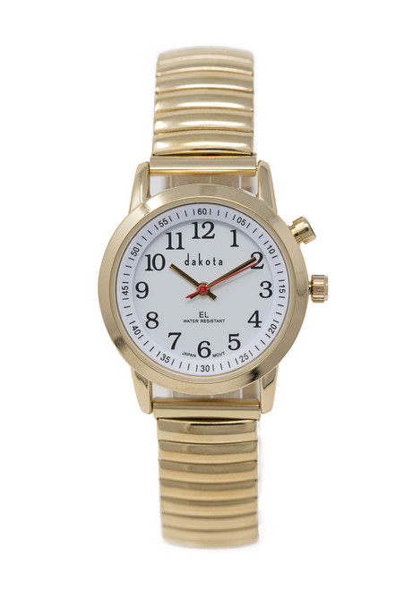 Easy Read EL - Petite Gold Case White Dial Twist