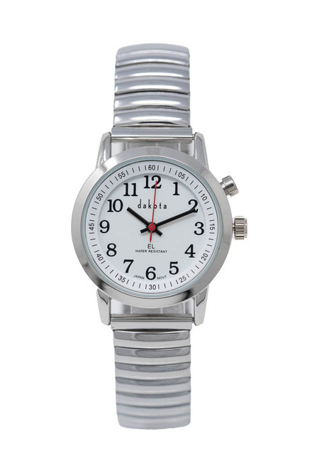 Easy Read EL - Petite Silver Case White Dial Twist
