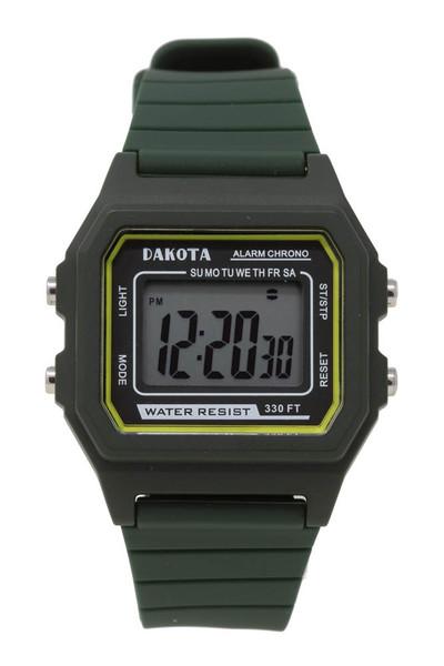 Retro Digital - Mid Size - Dark Green