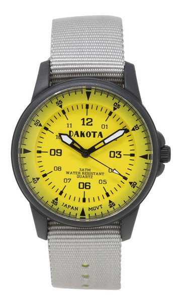 Mid-Size Black and Yellow Ultralight - Gray Band