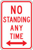 R7-4D No Standing Any Time