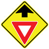 FED W3-2 Yield Ahead Warning Sign