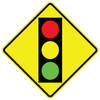 FED W3-3 Signal Ahead Warning Sign