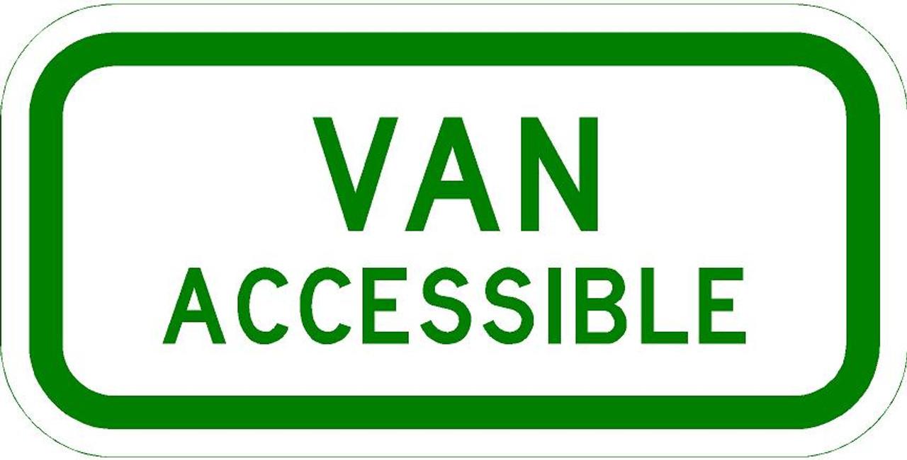 R7-8a Van Accessible