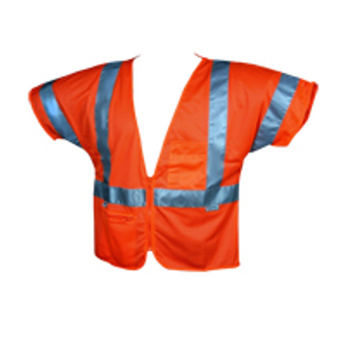 Class 3 Orange Safety Vest