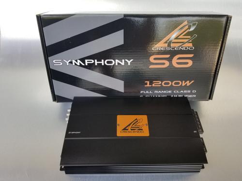 Symphony S6 6 Channel Amplifier