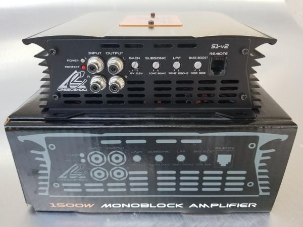Symphony S1v2  Monoblock Bass Amplifier