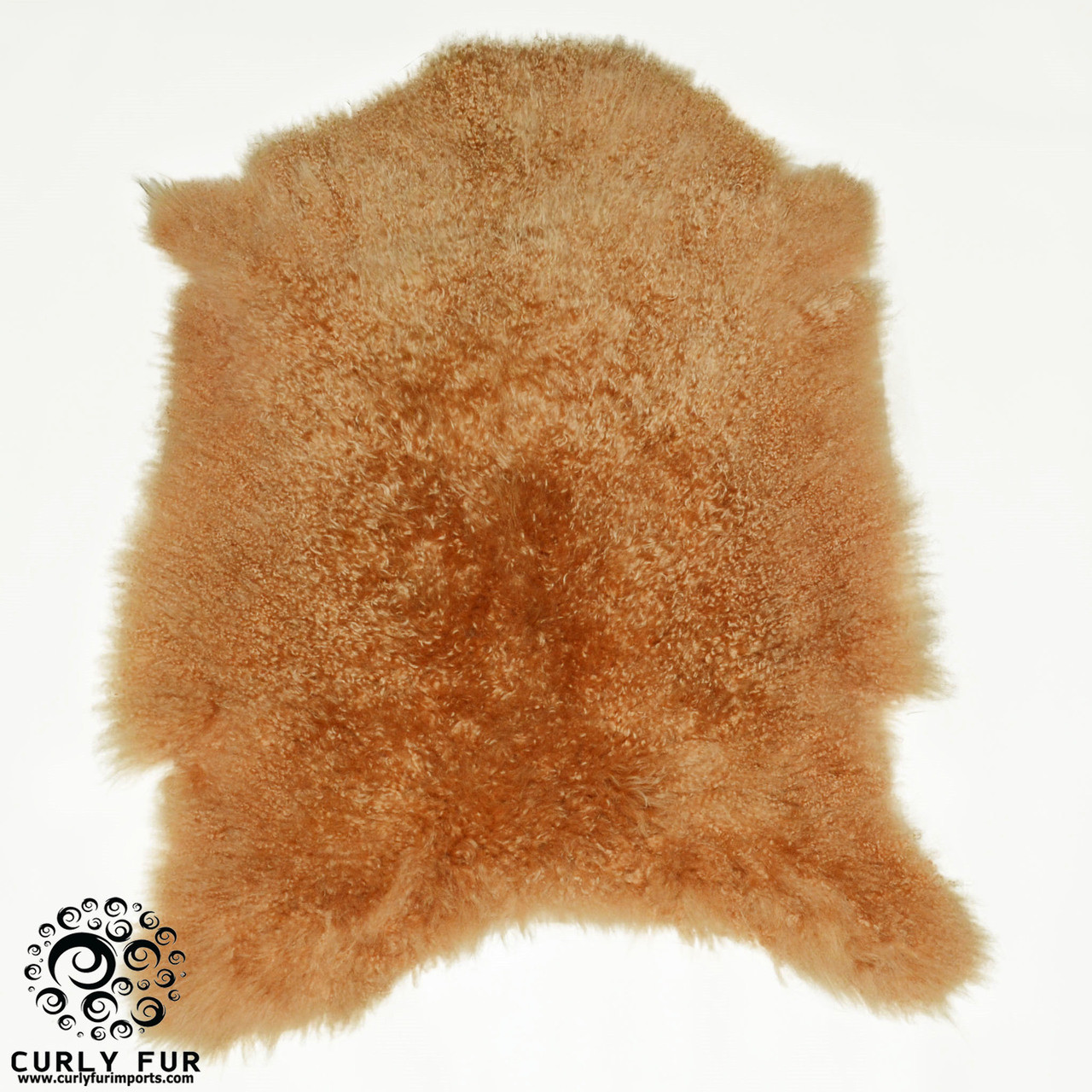 Cashmere Goat Fur Pelt Camel Curly Fur Imports
