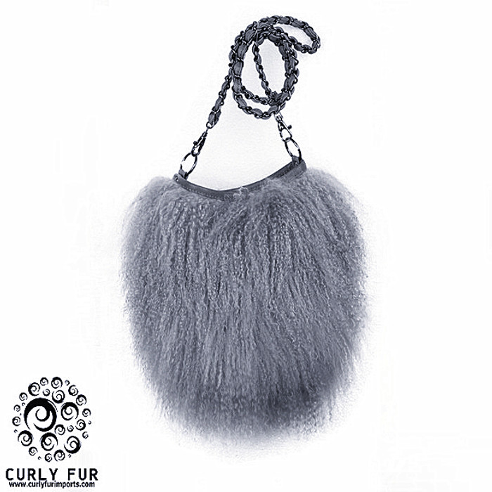 3eb559ec0ec12 This amazing bag made with 100% real extra soft and curly Tibetan ...