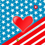 USA card for chocolate gifts