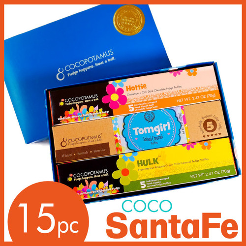 CocoSantaFe Mixed Truffle Set