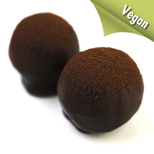Best Vegan chocolate truffle: Ronald Vegan is totally vegan and gluten-free in 70% deep dark chocolate