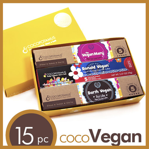 CocoVegan Mixed Vegan Truffle Set