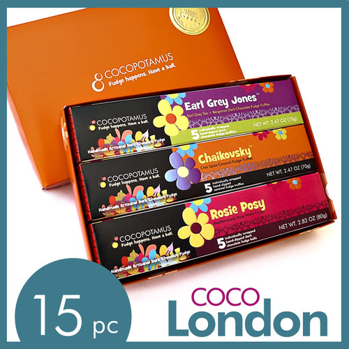 CocoLondon assorted chocolate truffle set
