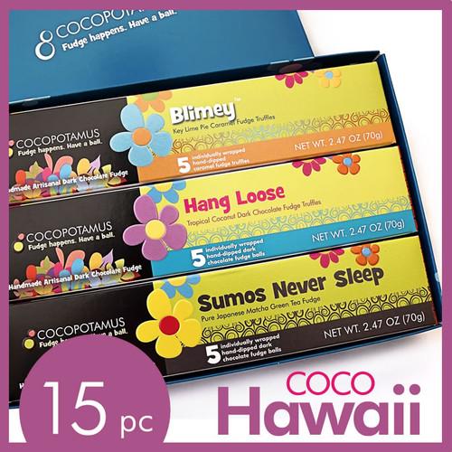 CocoHawaii: assorted chocolate truffle gift set