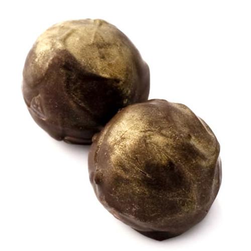 Planet Marz: dark chocolate truffles with almond and Kirsch