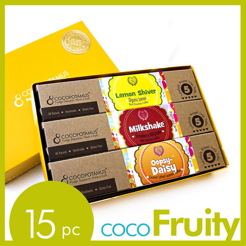 CocoFruity assorted truffle set