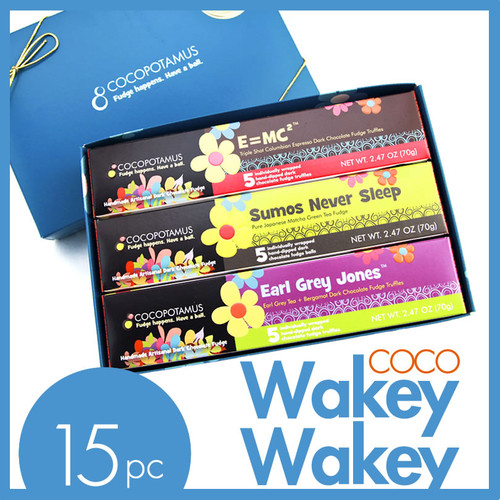 CocoWakeyWakey dark chocolate truffle assorted gift set