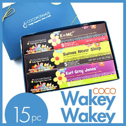 CocoWakeyWakey dark chocolate truffle assorted gift set