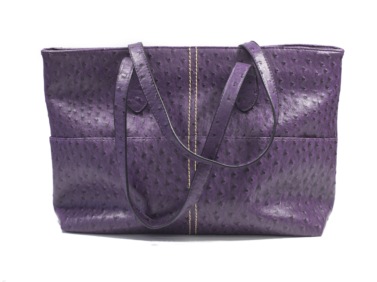768d911cf13 Large Textured Purple Tote - Purpleologist