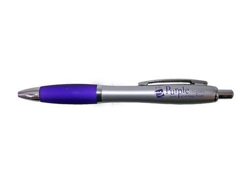 Purple Ink Logo Pen