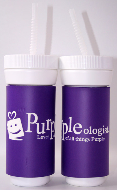 Purpleologist Water Bottle