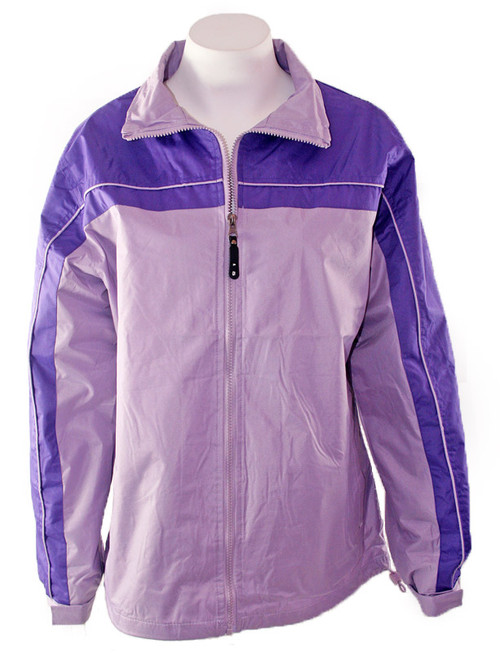 Two-Tone Purple Windbreaker