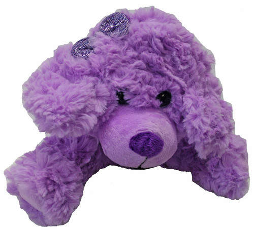Purple Scruffy Dog - Plush