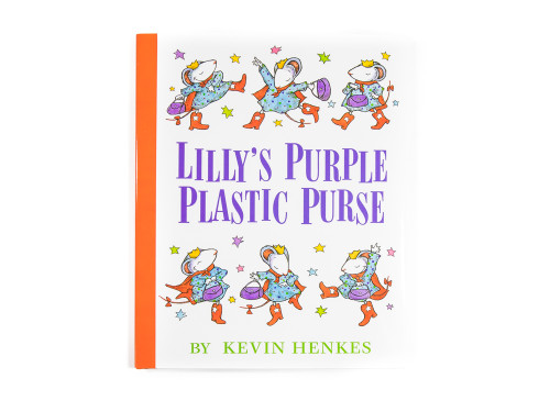 Lilly's Purple Plastic Purse - Book