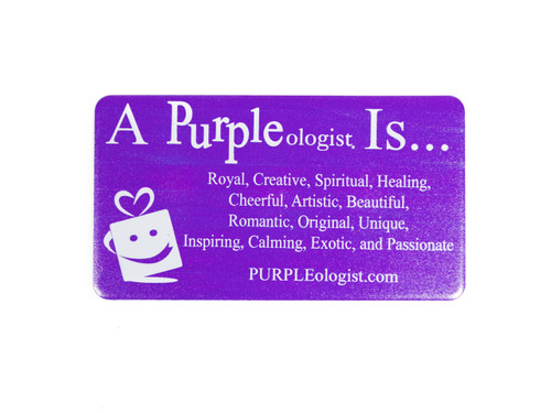 Purple Logo Magnet Is