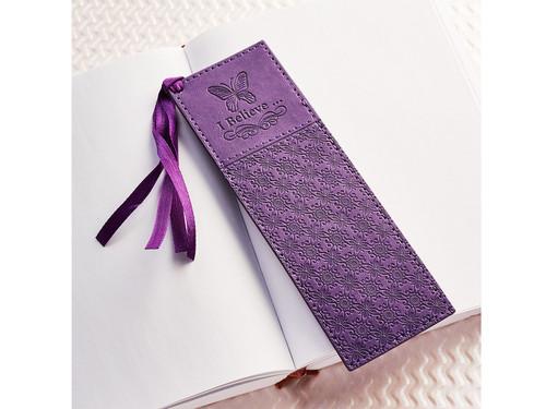 Purple Bookmark I Believe