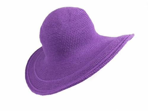 Crochet Wide Brim Hat