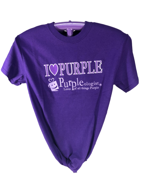 I Love Purple Logo Shirt