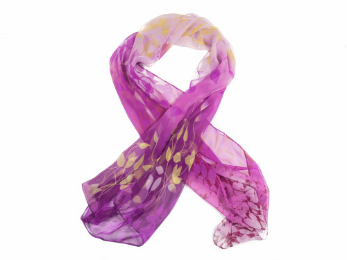 Purple Vine Scarf