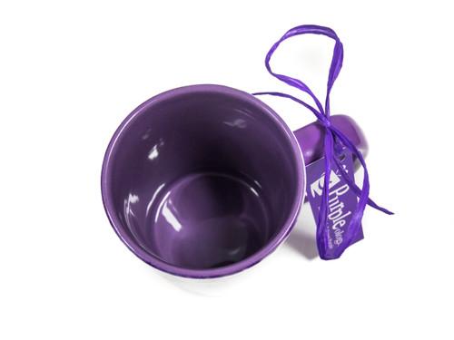 Floral Lavender Photo Mug