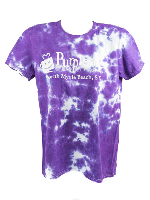 Tie Dye Purpleologist Adult T-Shirt