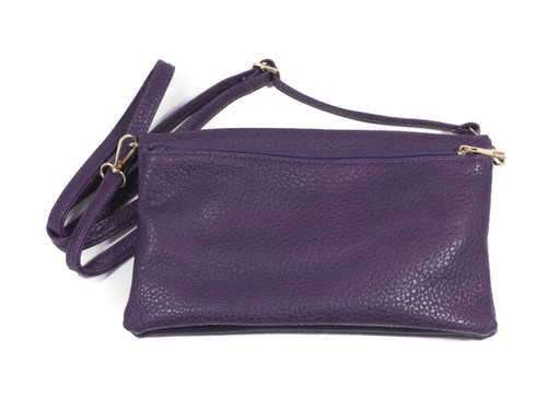 Double Sided Purple Shoulder Purse