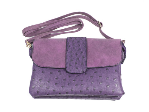 Two Toned Clasp Purse